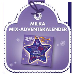 Milka Mix Adventskalender 213g
