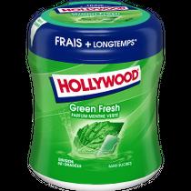 Chewing-gum - Hollywood Green Fresh parfum menthe verte Alt Mondelez Pro