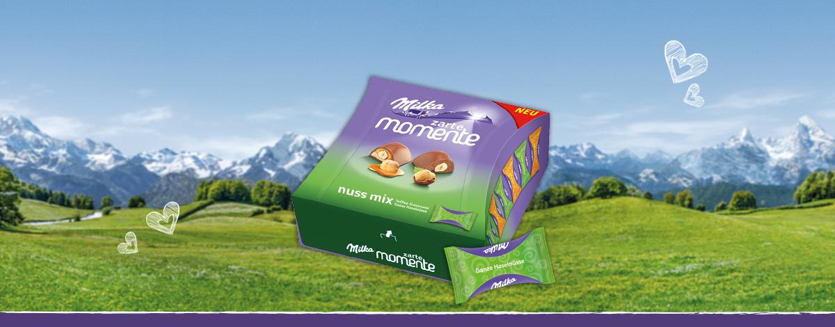 Milka Zarte Momente Nuss-Mix 169g
