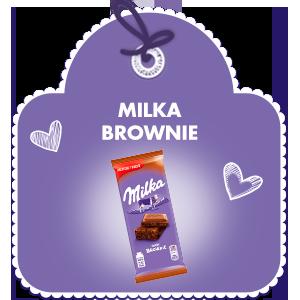 MILKA BROWNIE