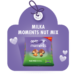 MILKA MOMENTS NUT MIX