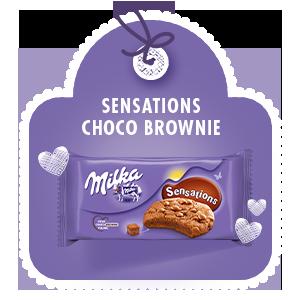 Milka Sensations Choco Brownie