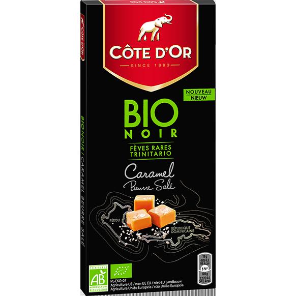 BIO NOIR Caramel au Beurre Sale