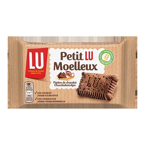Biscuits - Gateaux - Petit Lu Moelleux Chocolat 28g