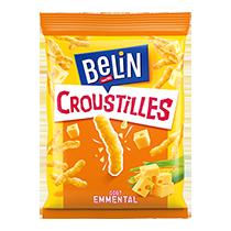 Biscuits - Gateaux - Belin Croustilles emmental 88g