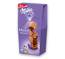 Milka Minis Choco Cake