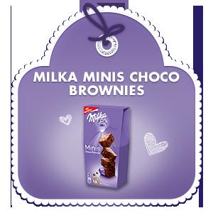 Milka Minis Choco Brownies