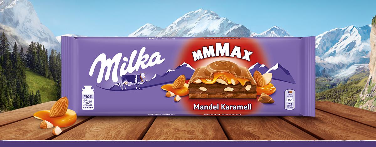 Milka Mmmax Mandel Karamell