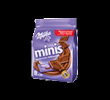 MILKA MINIS Chocolat au lait du pays alpin