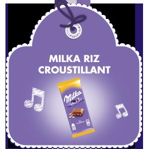 Milka Riz Croustillant