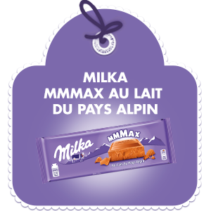 MILKA MMMAX AU PAYS DU LAIT ALPIN