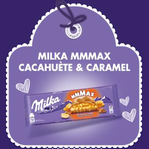 MILKA MMMAX CACAHUÈTE & CARAMEL