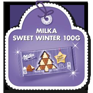 MILKA SWEET WINTER 100G