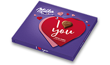 """I love you"" Haselnusscrème Pralinen 110g"