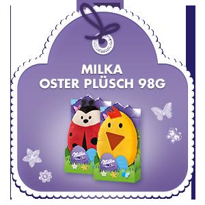 Milka Oster Plüsch 98g
