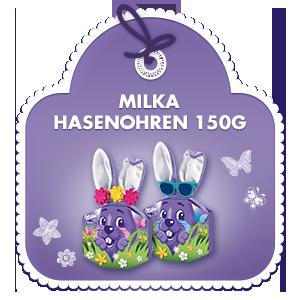 Milka Hasenohren 150g
