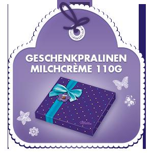 SemM Geschenkpralinen Milchcrème 110g