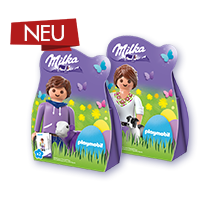 Milka Mini Eggs Packung im Playmobil®- Design 63g