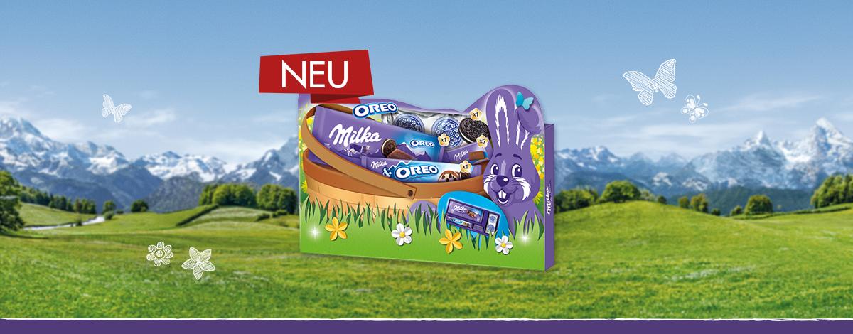 Milka & OREO Geschenkbox Ostern 182g
