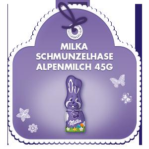 Milka Schmunzelhase Alpenmilch 45g