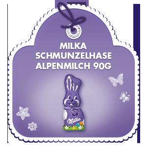 Milka Schmunzelhase Alpenmilch 90g
