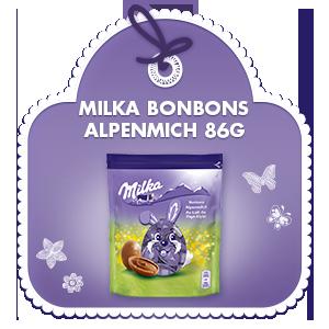 Milka Bonbons Alpenmilch 86g