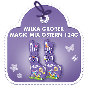 Milka Großer Magic Mix Ostern 124g
