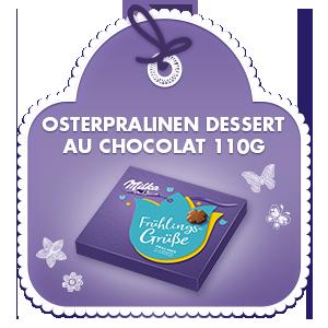SemM Osterpralinen Dessert au Chocolat 110G