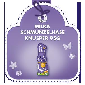 Milka Schmunzelhase Knusper 95g