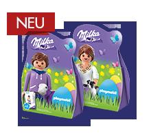 Milka Mini Eggs Packung im Playmobil®- Design 63g