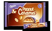 Milka & Peanut Caramel