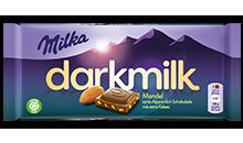 Milka Dark Milk <br>Mandel