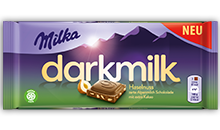 Milka Dark Milk <br>Haselnuss