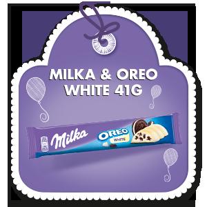 MILKA OREO WHITE 41 g