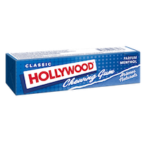 Chewing-gum - Hollywood parfum menthol format tablette Alt Mondelez Pro