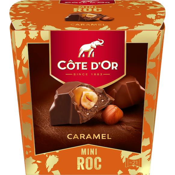 Mini Roc Caramel 195g