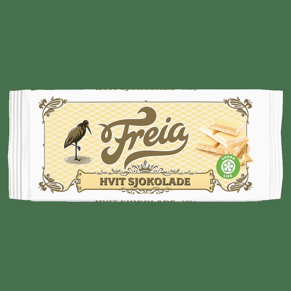 Freia Hvit Sjokolade (100 g)