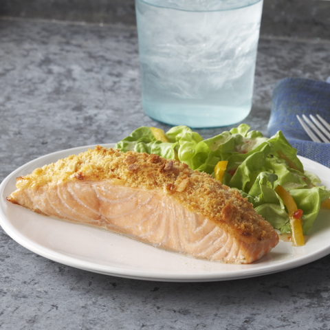 RITZ Parmesan Baked Salmon Recipe