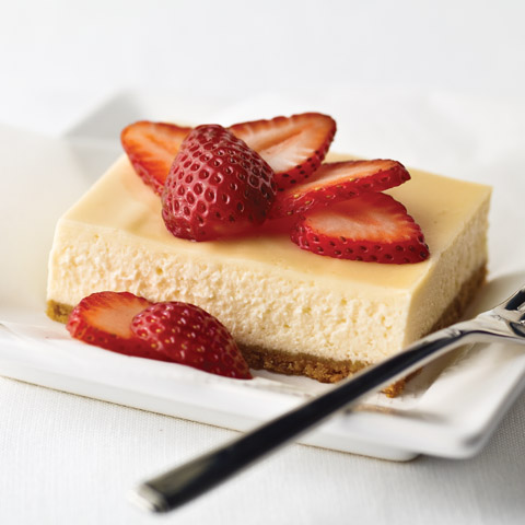 New York-Style Sour Cream-Topped Cheesecake Recipe