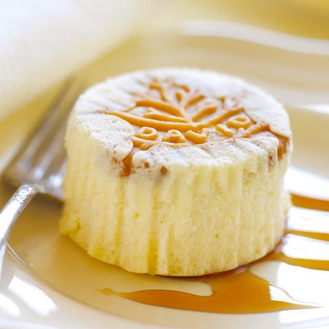 Mini-gâteaux au fromage DAVID à l'érable et aux noix Recipe