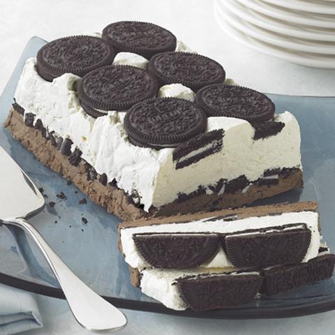 Dessert glacé «biscuits et crème» OREO Recipe