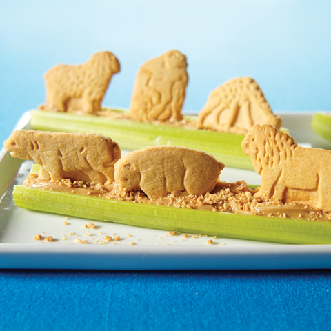 BARNUM'S ANIMAL CRACKERS Lions and Tigers and Bears - Yum! Yum! Recipe