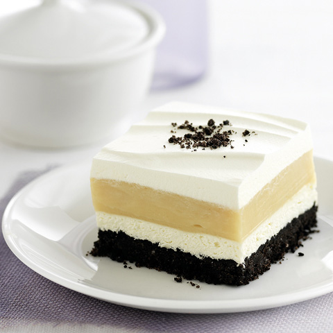 Peanut Butter-Striped Delight Recipe
