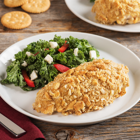 RITZ Almond-Crusted Chicken Dijon Recipe