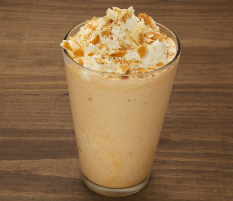 Pumpkin Pie Milkshake with NILLA Wafers Recipe