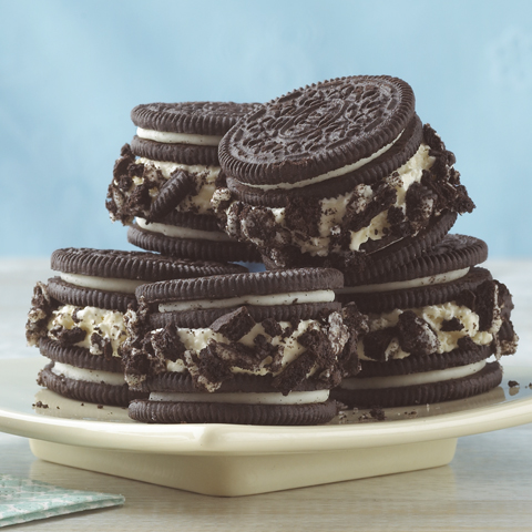 OREO Ice Cream Sandwiches Recipe
