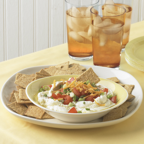 Easy Layered Tomato Dip Recipe