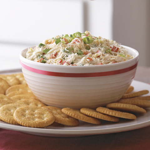 Creamy Crab and Red Pepper Spread Recipe