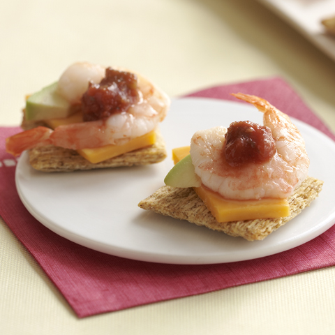 TRISCUIT California Shrimp Topper Recipe