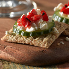 TRISCUIT Cool & Tangy Greek Snacks Recipe